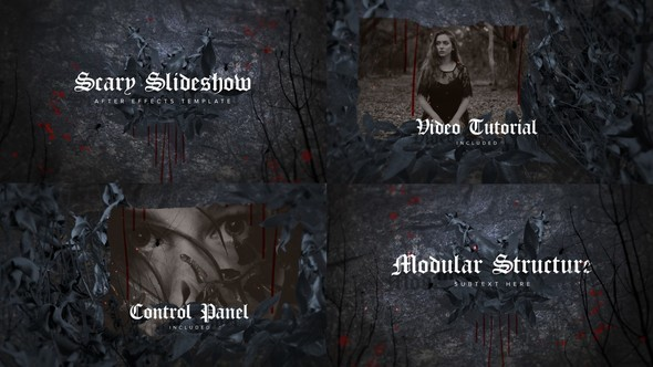 Videohive Scary Slideshow 22690411