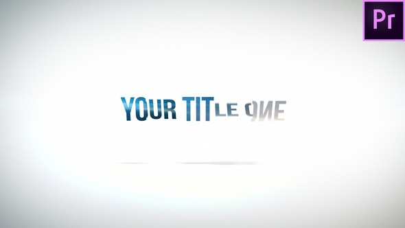 Videohive Clean Rotation Title 22708041