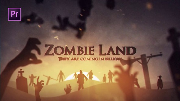 Videohive Zombie Land 22683808 - Premiere Pro