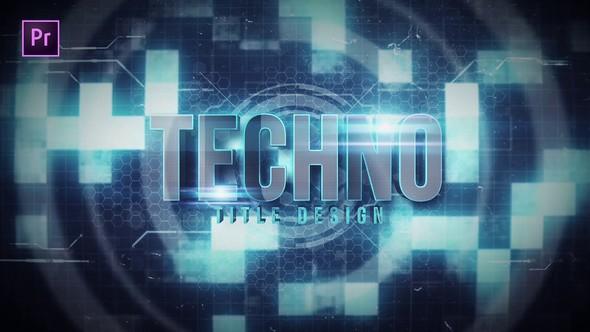 Videohive Techno Title 22685782