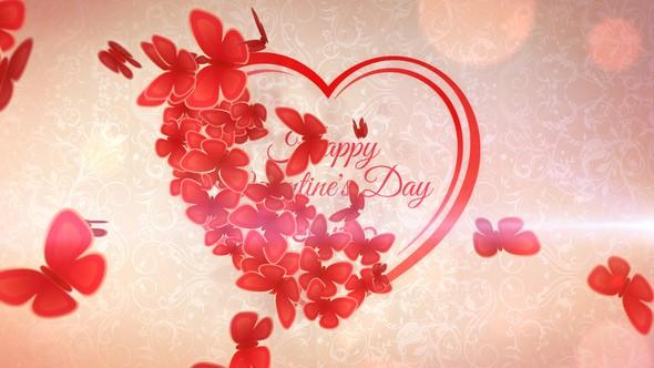 Videohive Romantic Heart Opener 10349877