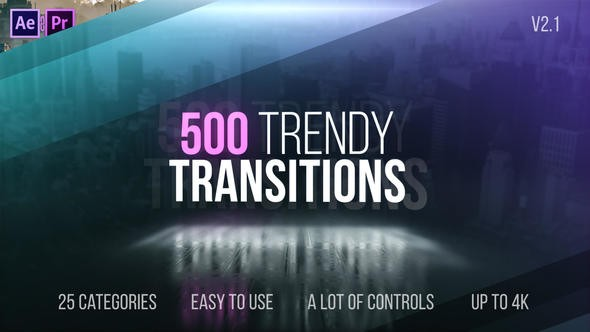 Videohive Trendy Transitions 22114911