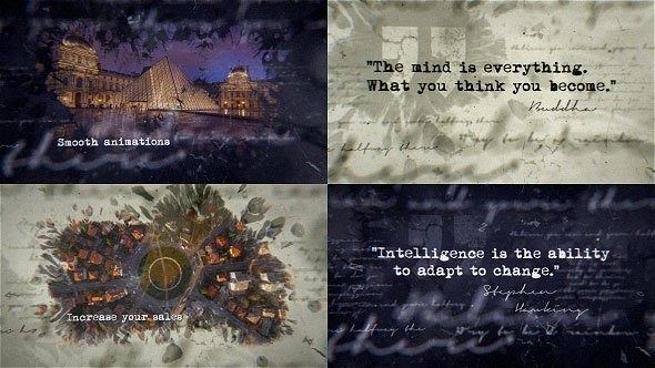 Videohive Inspirational Ink Titles 14516363