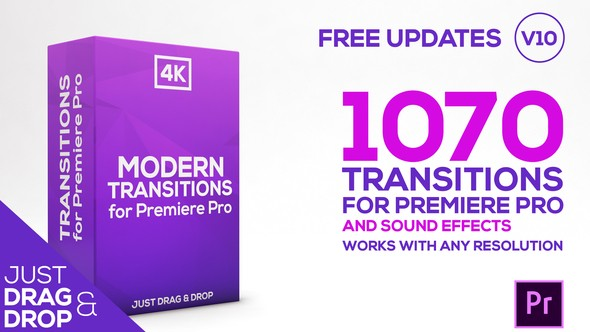 Videohive Modern Transitions | For Premiere PRO 21922312
