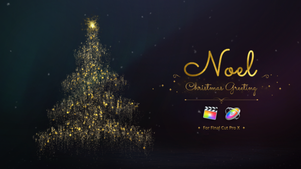 Videohive Noel Christmas Greetings for Final Cut Pro 22663396