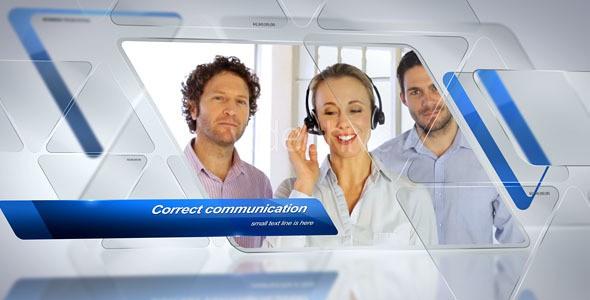 Videohive Triangular Corporate Slideshow 14838465