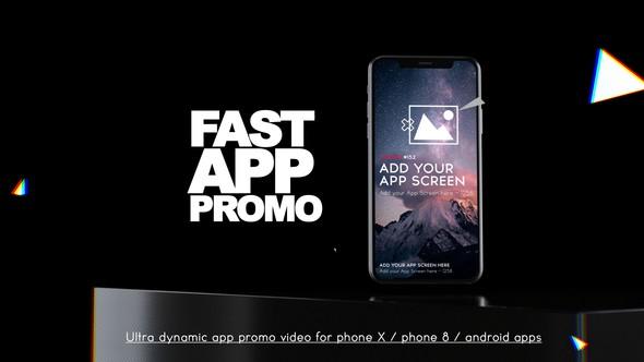 Videohive Fast App Promo 22737310