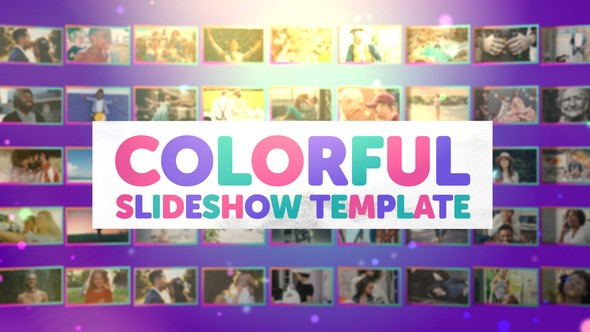 Videohive Colorful Slideshow 22043785