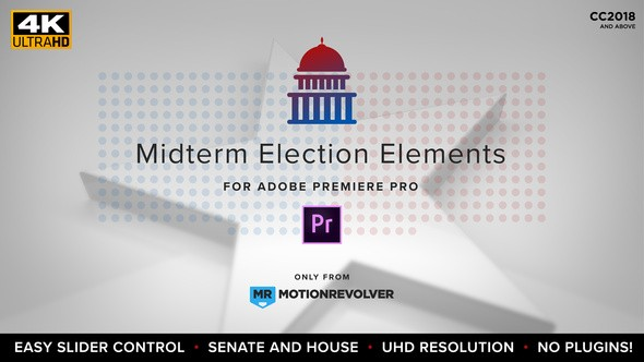 Videohive Midterm Election Elements – Congress & Senate | MOGRT for Premiere Pro 22771897