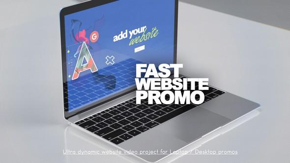 Videohive Fast Website Promo 22772197