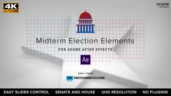 Videohive Midterm Election Elements | Congress & Senate 22771895