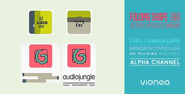 Videohive Folding Shape Logo 18406107