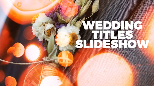 Videohive Wedding 21777207
