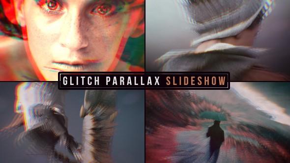 Videohive Glitch Parallax Slideshow 19638658