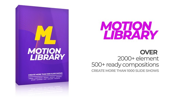 Videohive Motion Library Pack 22380487