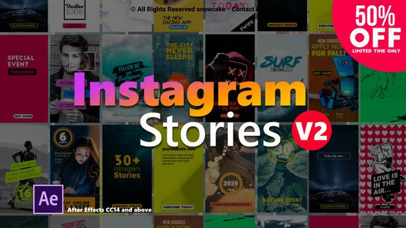 Videohive Instagram Stories 22357836 V.2