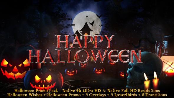 Videohive Halloween - Broadcast Pack 22695985