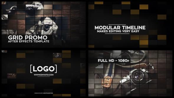 Videohive Grid Promo 10039942