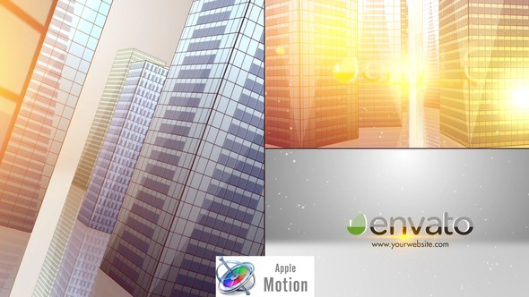 Videohive SkyScrapers Buildings Logo - Apple Motion 22749292