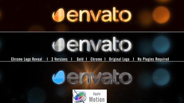 Videohive Chrome Logo Reveal - Apple Motion 22749330