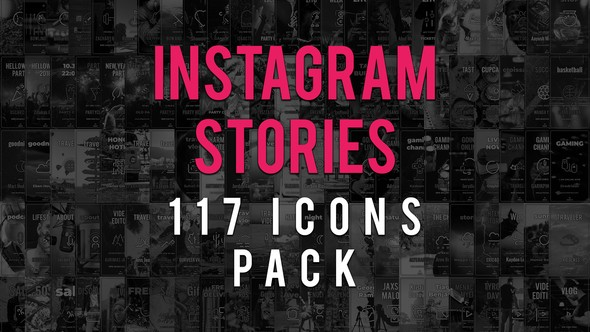 Videohive Instagram Stories Icons Pack 22790805