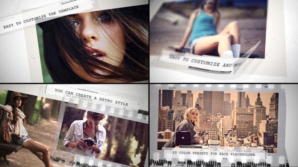 Videohive Grunge Movie Intro 22576453