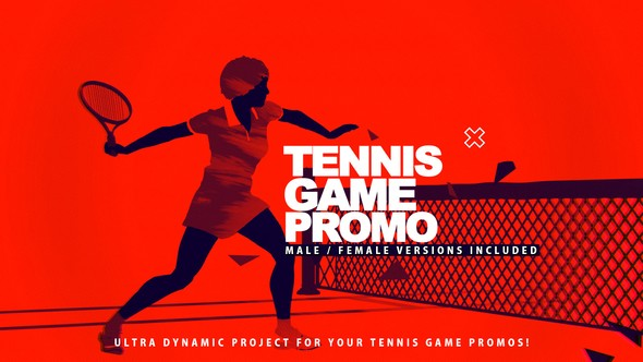 Videohive Tennis Game Promo 22811902