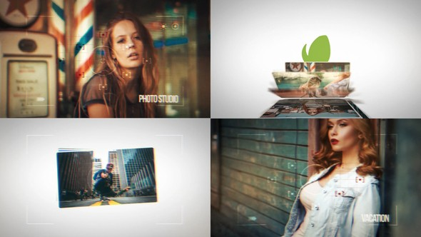 Videohive Dynamic Photo Slideshow Intros 22817809