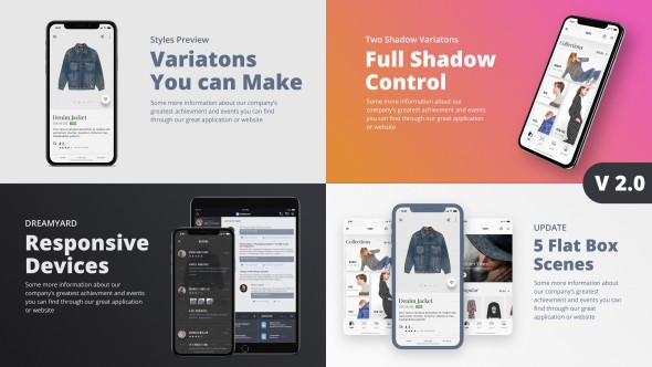 Videohive TheX - App Presentation Kit 21365745