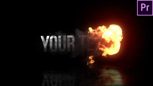 Videohive Fire Reveal Title 22821182