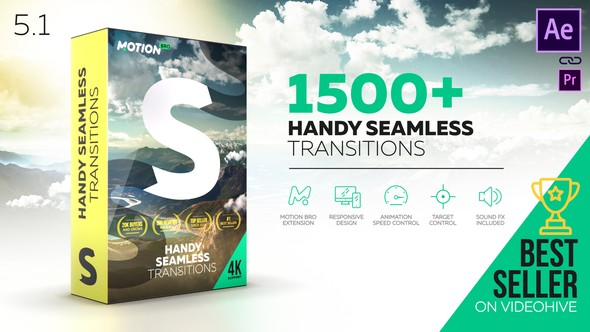 Videohive Transitions V5.1 18967340 with Crack