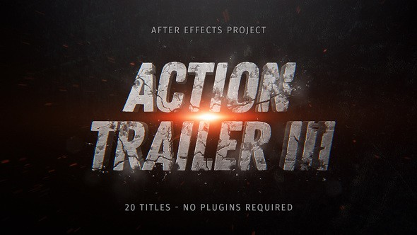 Videohive Action Trailer III 22208618