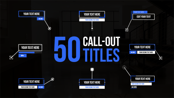 Videohive Call Out Titles 21483150