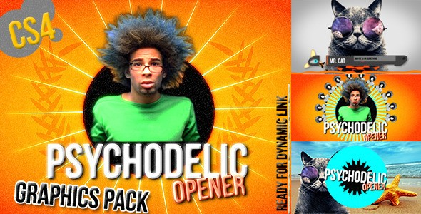 Videohive Colorful Summer Broadcast Pack - Funky Opener 2909321