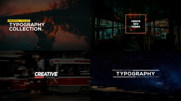 Videohive Animated Typography Pack for Premiere Pro 22731760