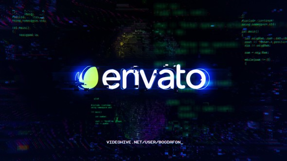 Videohive Glitch Logo Intro 20870339