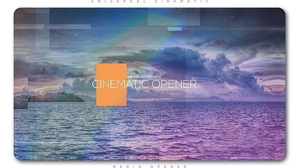 Videohive Universal Cinematic Opener 20553820