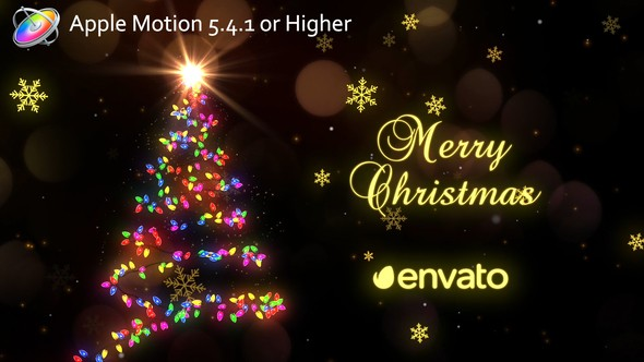 Videohive Christmas Lights - Apple Motion 22841620