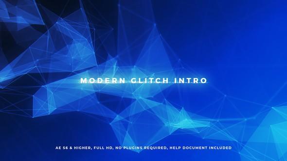 Videohive Modern Glitch Intro 20614919