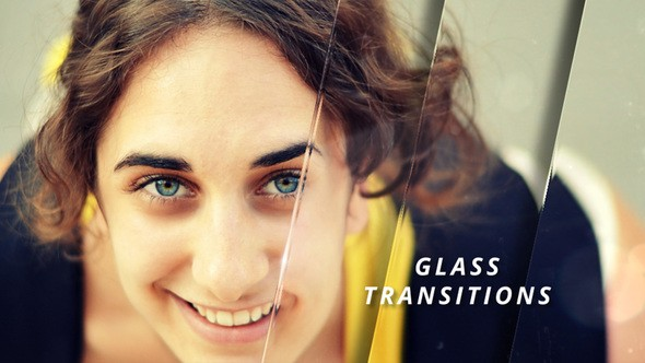 Videohive Glass Transitions 22566677