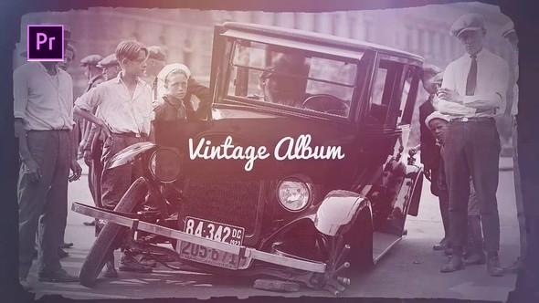 Videohive Vintage Album 22826685