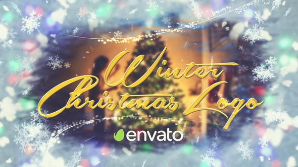 Videohive Christmas Winter Logo 22847584