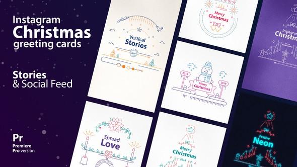 Videohive Instagram Christmas Stories 22867784