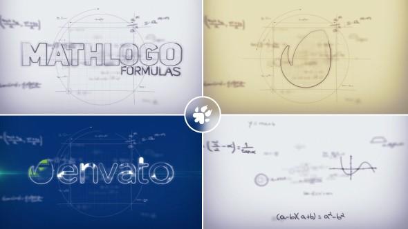 Videohive Math Formulas Logo Reveal 19564497