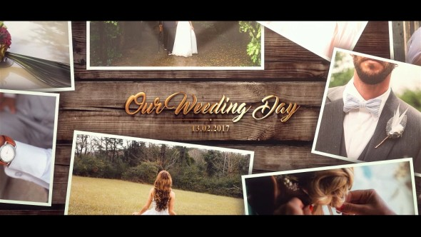 Videohive Wedding Gold Slideshow 20175077
