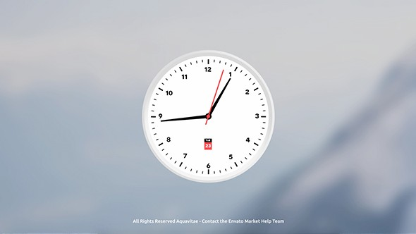 Videohive Analog Clock Creator 21012555