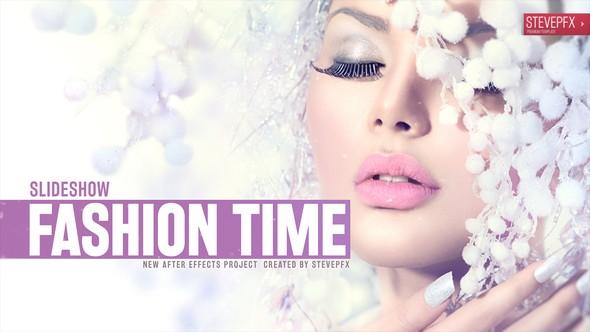 Videohive Fashion Time Slideshow 12709739