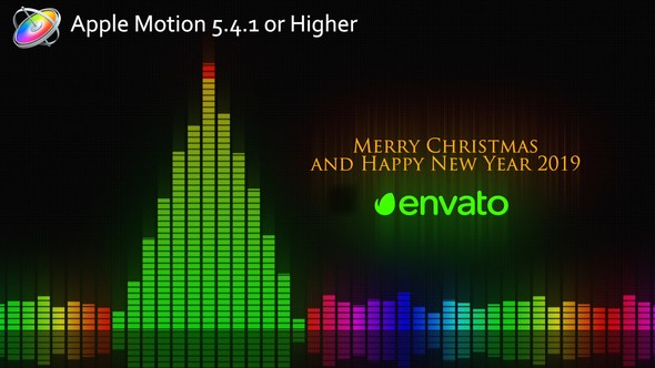 Videohive Audio Meter Christmas Wishes – Apple Motion 22870619