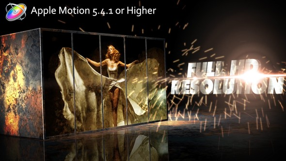Videohive Metal Impact – Apple Motion 22870600
