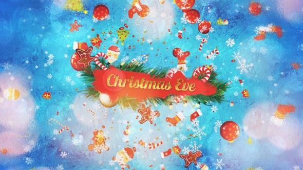 Videohive Christmas Eve Slideshow 21057994